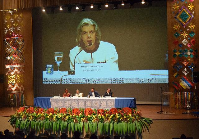 Cármen Lúcia reafirma sua confiança na magistratura brasileira