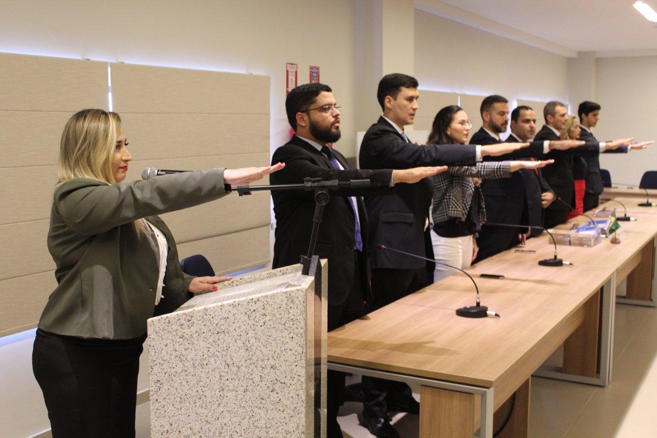 OABRN realiza entrega de carteiras para 27 novos advogados