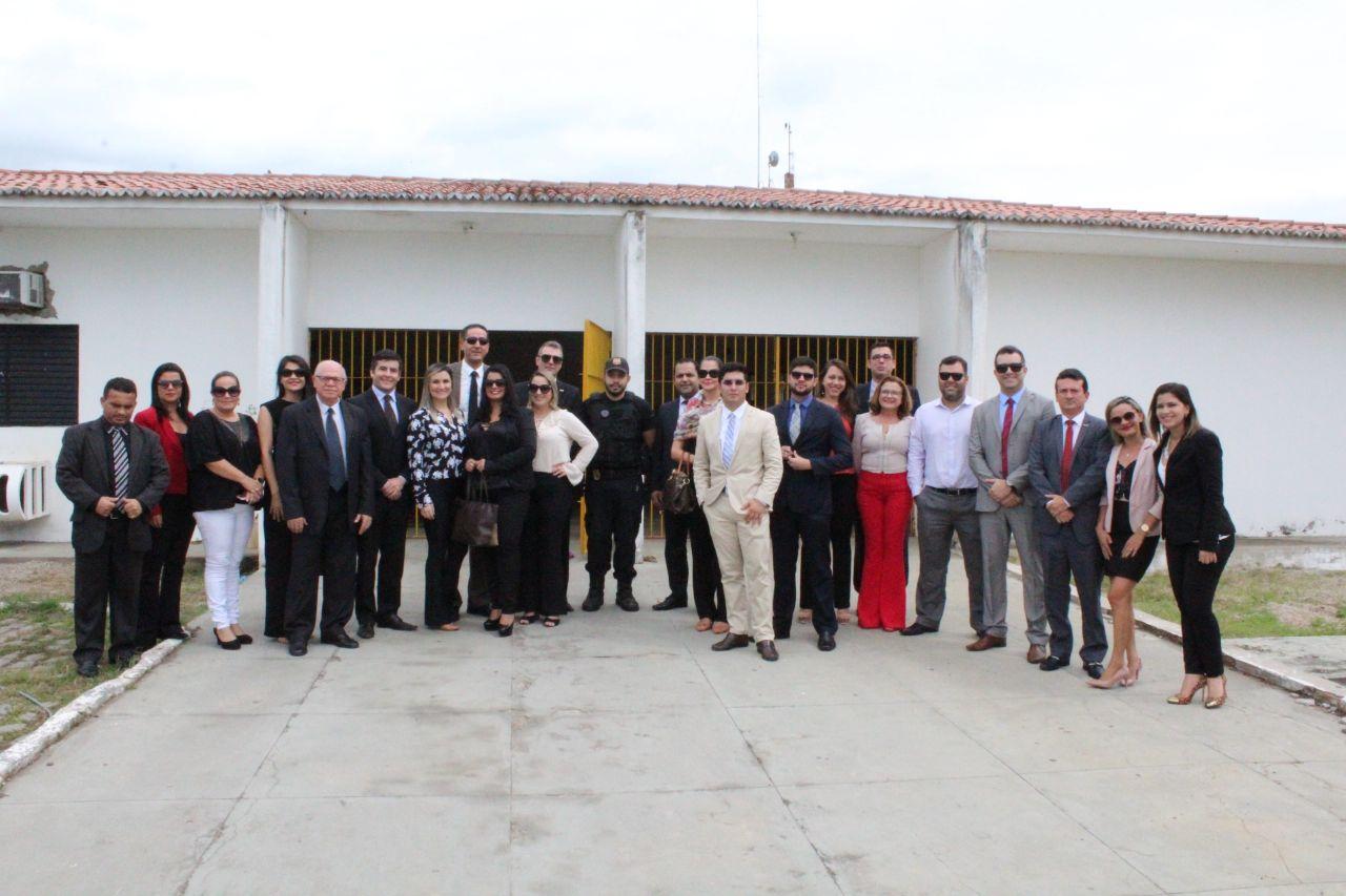 OABRN visita Cadeia Pública e realiza Audiência Pública em Nova Cruz