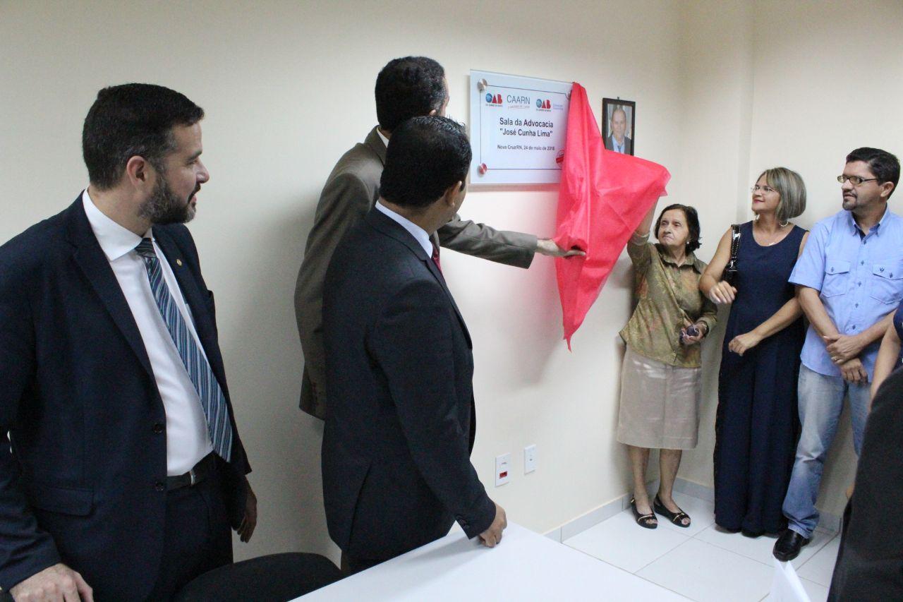 Sala dos Advogados é inaugurada em Nova Cruz