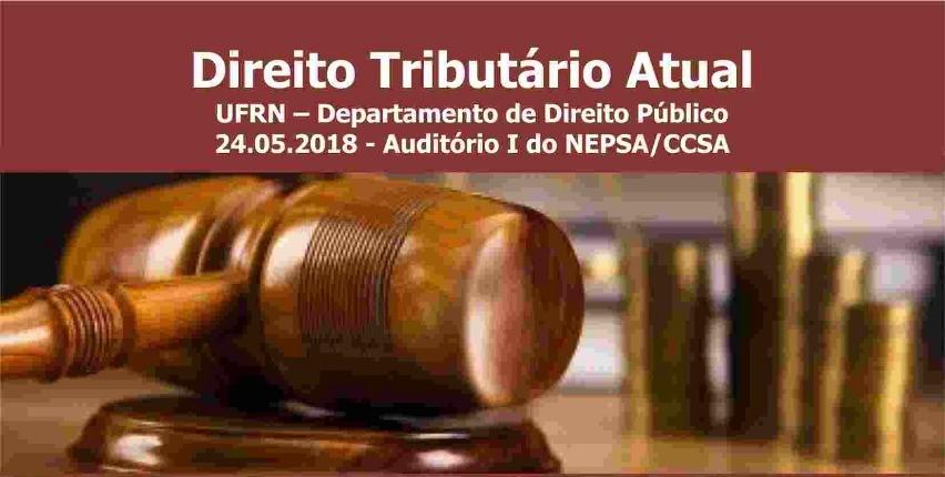 Seminário sobre Direito Tributário Atual acontece dia 24