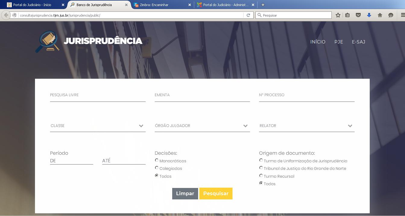 """TJRN e IMD desenvolvem ferramenta """"Busca de Jurisprudência"""", já disponível no site do Tribunal"""