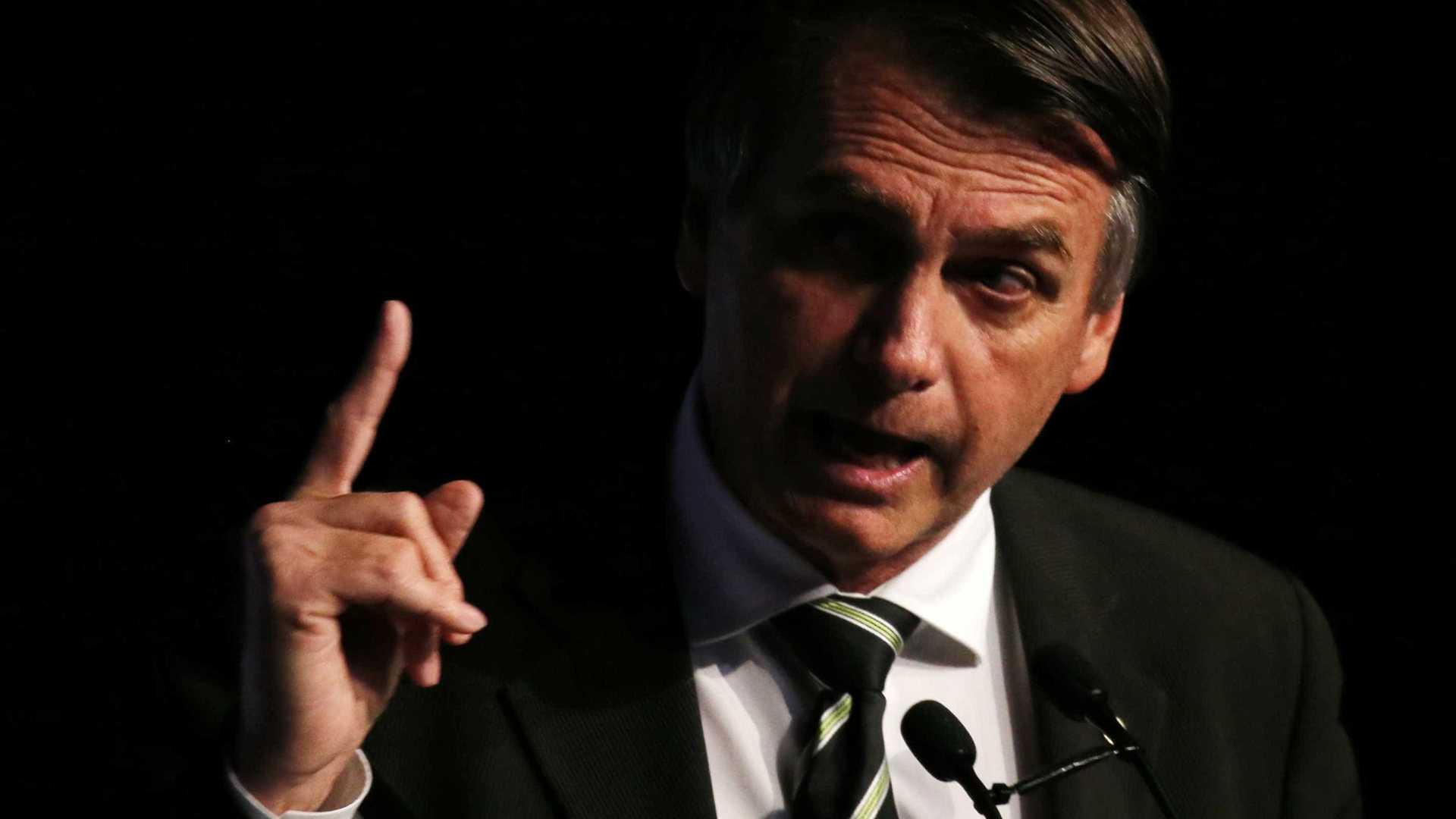 'Aqui no Brasil não existe isso de racismo', diz Bolsonaro