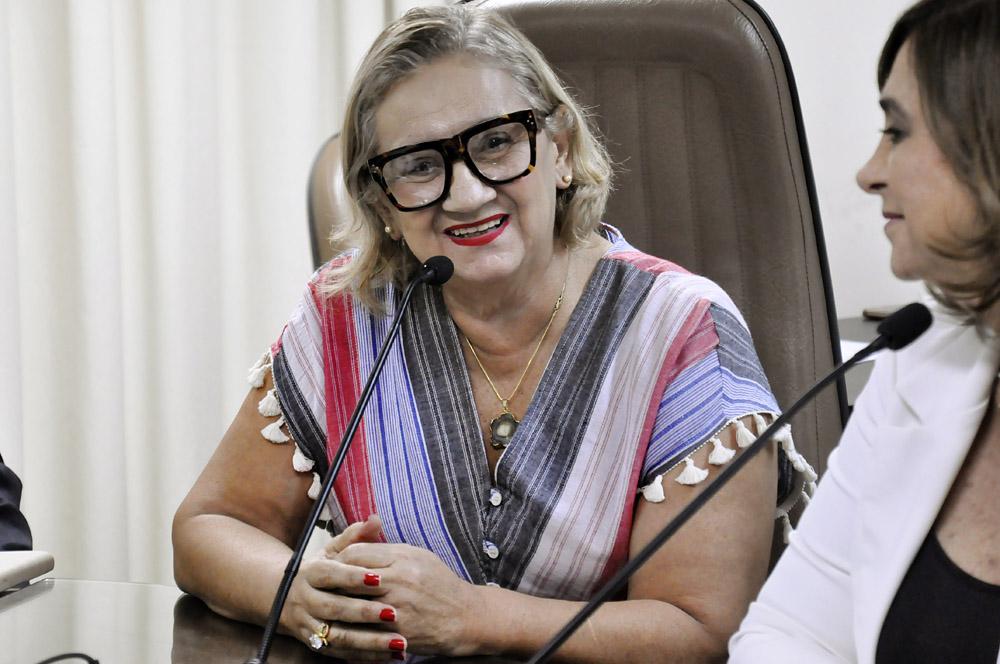 CCJ aprova indicação do nome da educadora Maria do Socorro Ferreira para a ARSEP