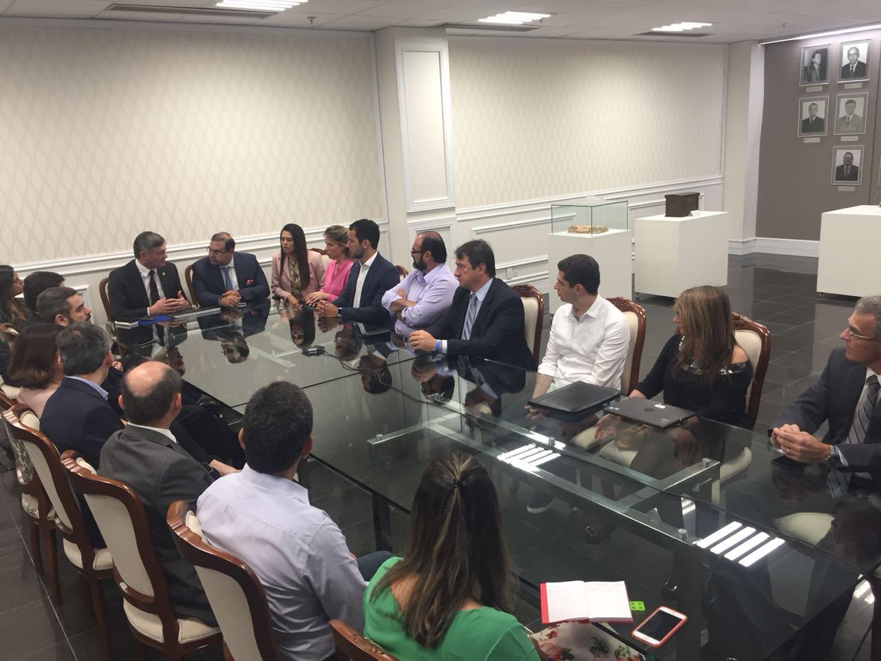 Diretores do Foro se reúnem na JFRN e criam uma Rede de Governança