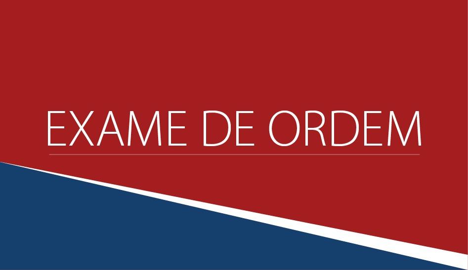 Estão abertas as inscrições para o XXVI Exame de Ordem Unificado