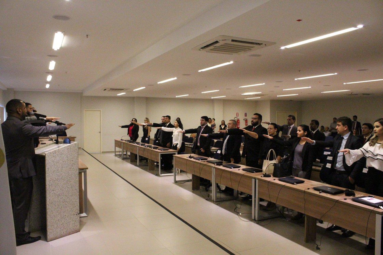 OABRN realiza solenidade de entrega de carteiras para novos advogados