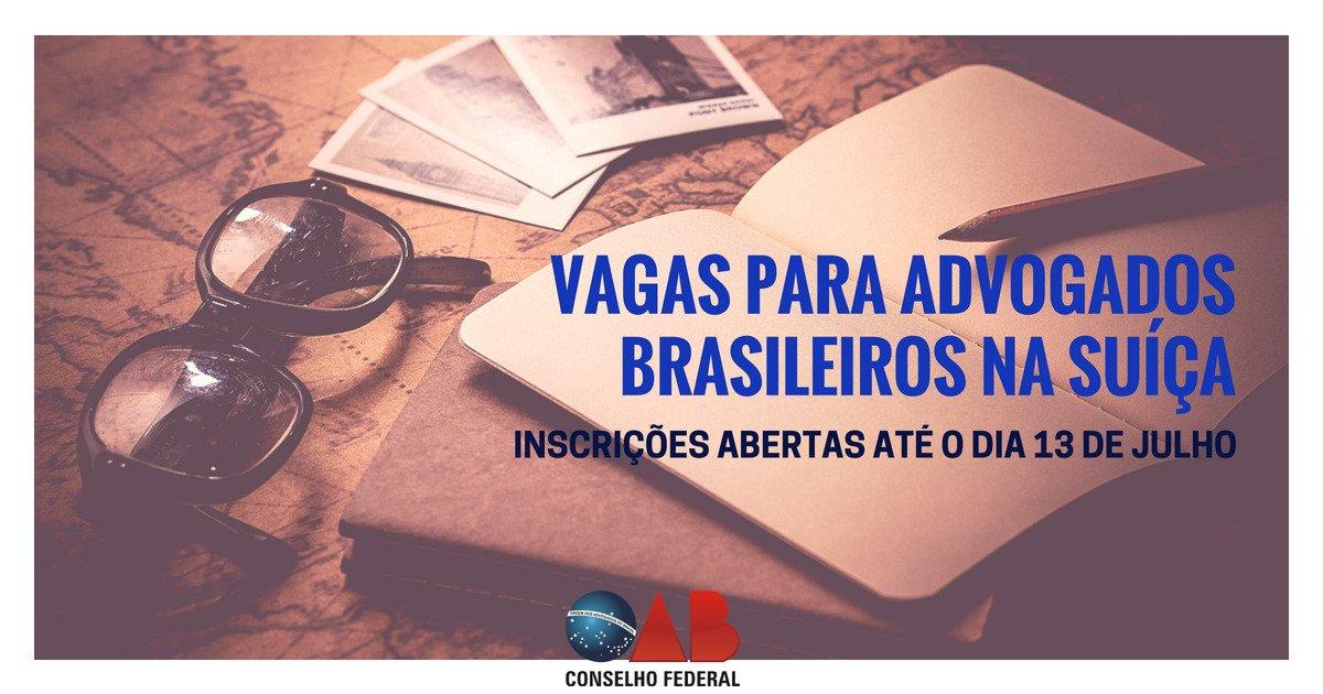 Organização Mundial do Comércio abre vagas para advogados brasileiros na Suíça