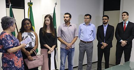 TRT-RN Presidente Auxiliadora Rodrigues empossa novos servidores