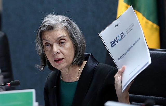 Cármen Lúcia apresenta ao CNJ o novo banco nacional de presos