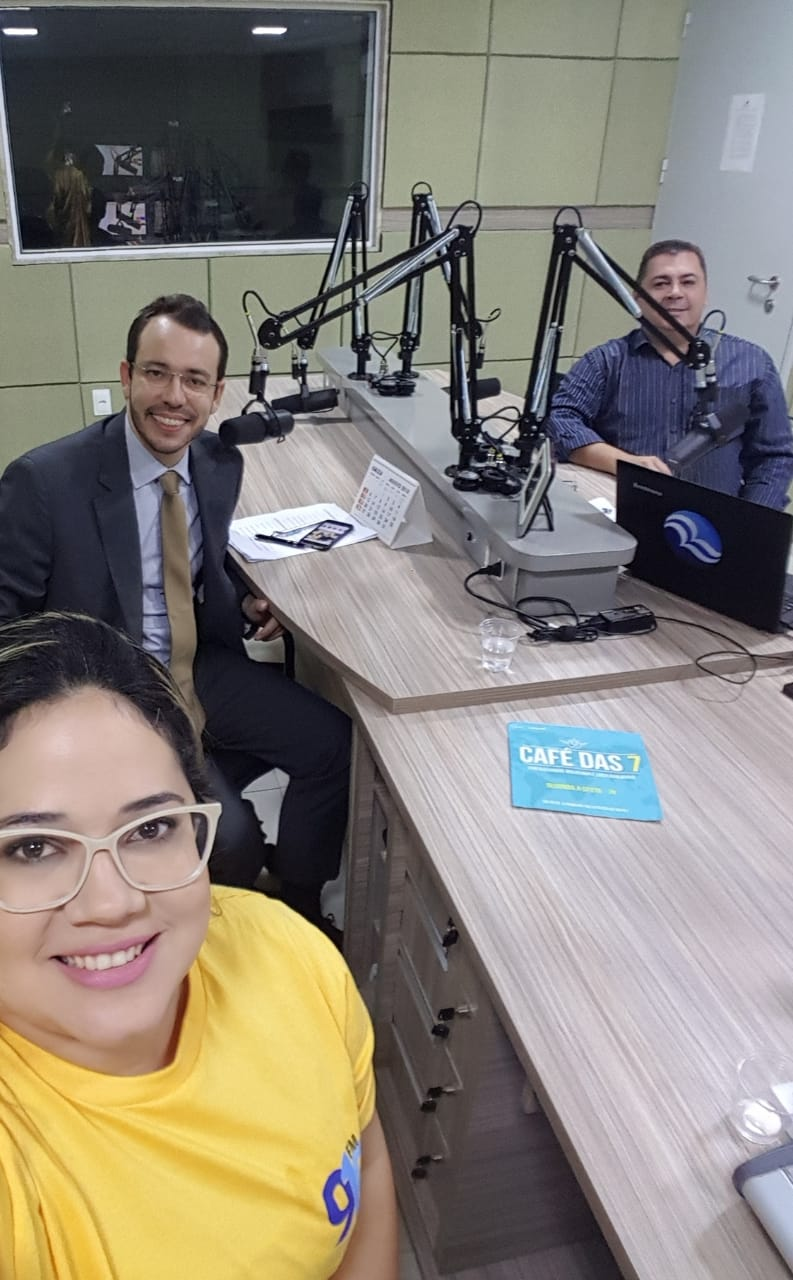 Canindé Alves apresenta desafios da Administração Pública no RN durante entrevista no Café da 91.9 FM