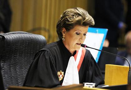 Ministra Maria de Assis Calsing se despede do TST