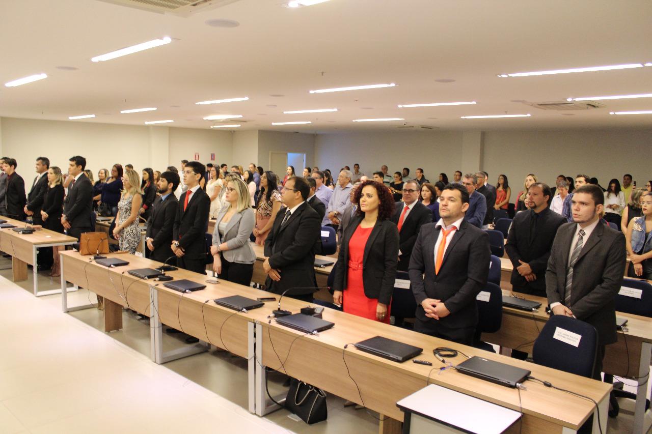 OABRN realiza solenidade de entrega de carteiras a novos advogados