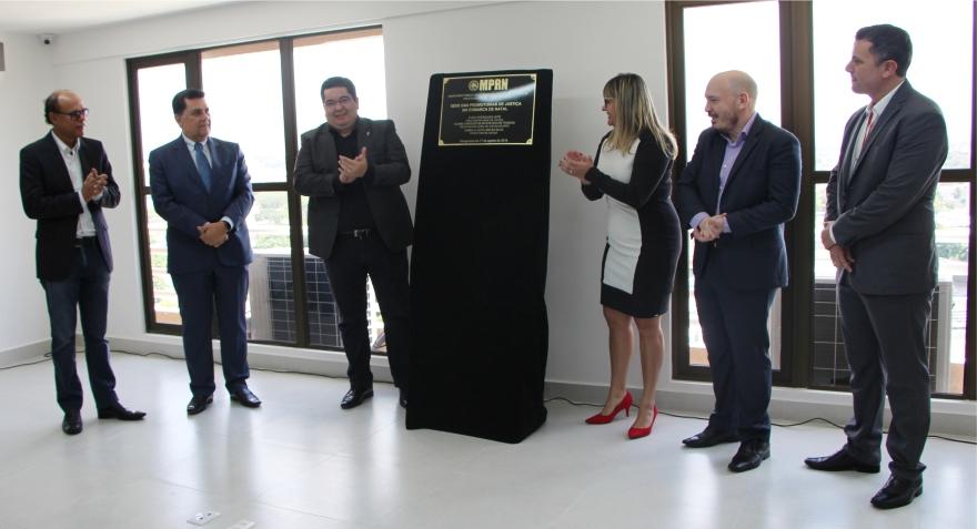PGJ inaugura nova sede das Promotorias de Justiça de Natal