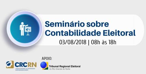 TRE-RN sedia seminário sobre contabilidade eleitoral na próxima sexta-feira (03)