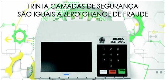 TSE lança campanha sobre segurança do sistema eletrônico de votação