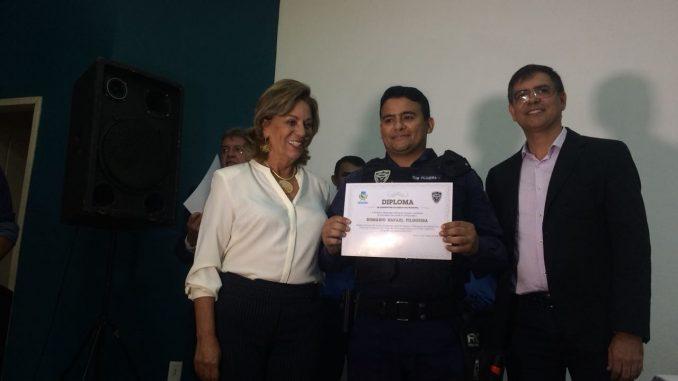 Aprovados para inspetor e subinspetor da Guarda Municipal de Mossoró são empossados