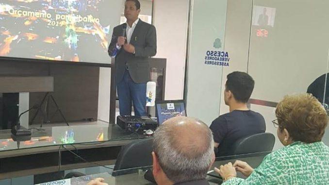 Audiência pública esclarece pontos do Orçamento Municipal 2019 em Mossoró