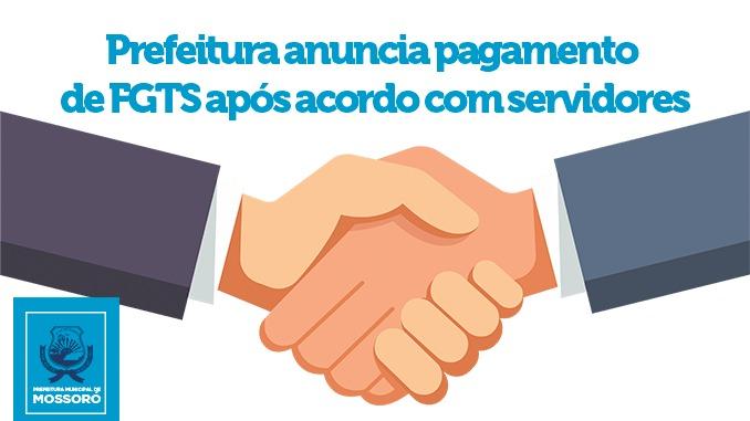 Prefeitura de Mossoró anuncia início do repasse do FGTS após homologação de acordo com servidores