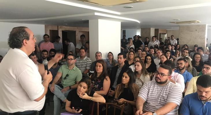 Erick Pereira e advogados debatem propostas para pré-candidatos a OAB-RN