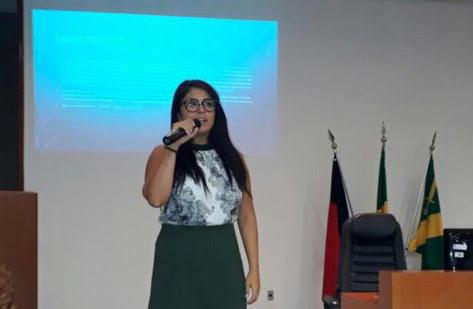 Thais Maria da Silva Mulatinho, palestrante