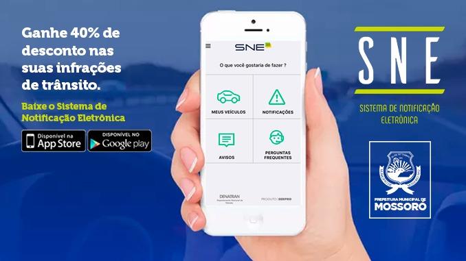 Mossoró é a primeira do RN a aderir ao Sistema de Notificação que garante desconto em multas de trânsito