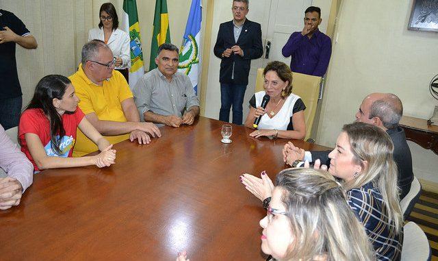Prefeita Rosalba dá posse ao Conselho Municipal da Pessoa com Deficiência