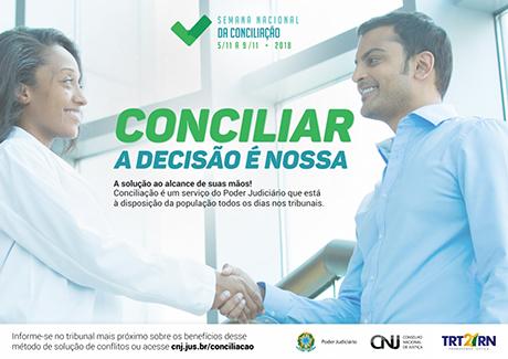 RT-RN finaliza preparativos para a Semana Nacional da Conciliação