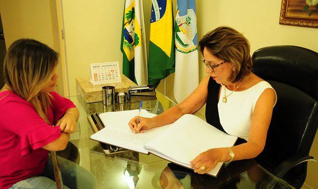 Rosalba Ciarlini reassume cargo de prefeita