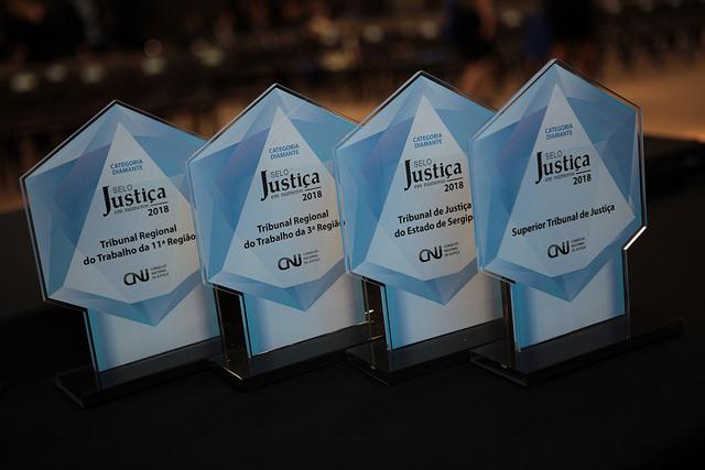 CNJ premia tribunais com Selo Justiça em Números