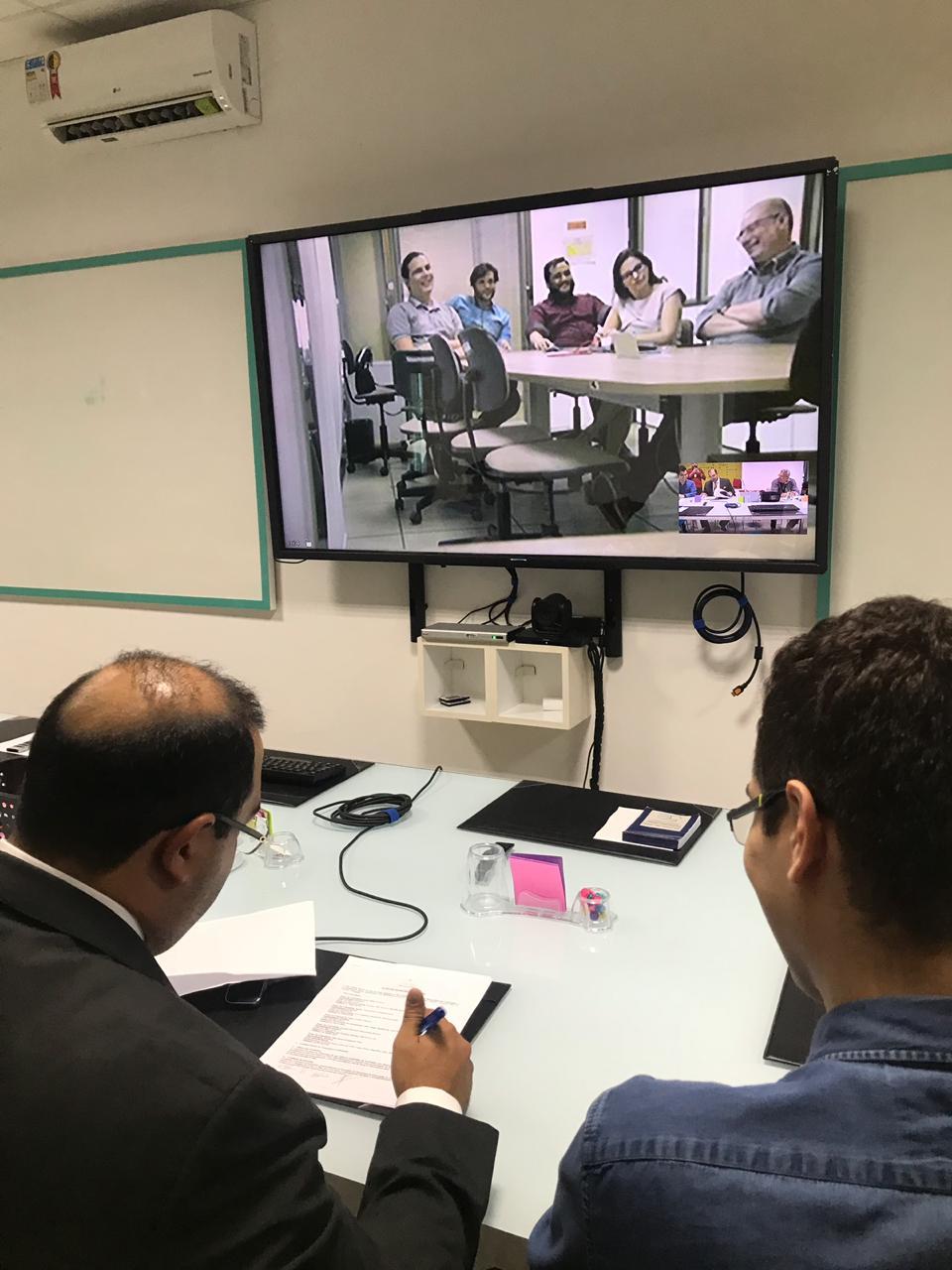 JFRN assina parceria com grupo para desenvolver sistema de aprendizagem de máquina