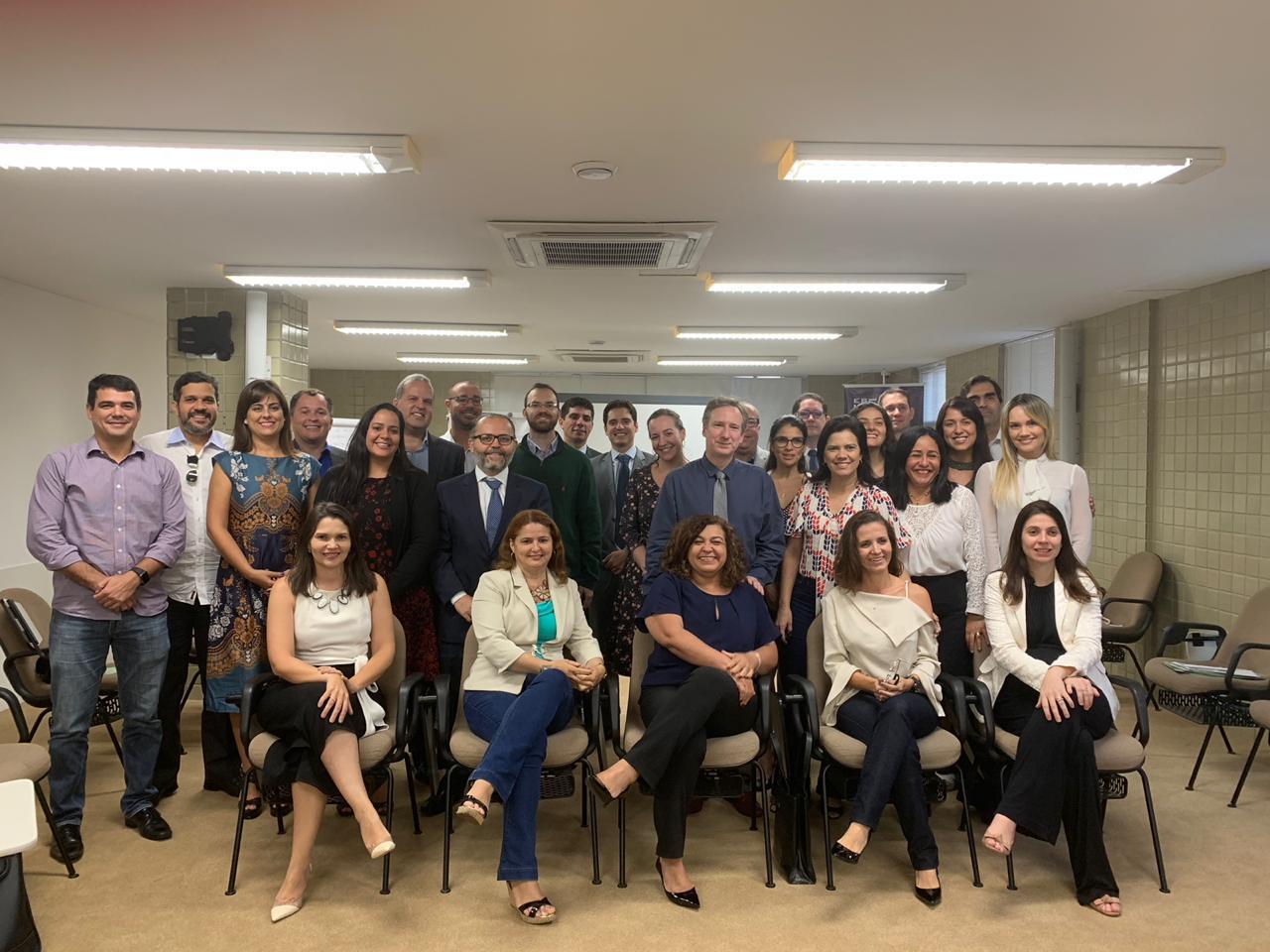 Juízes federais e servidora da JFRN participam de curso para Formadores da ESMAFE