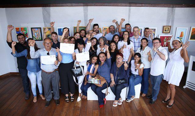 Mais de 50 certificados de cursos na área de turismo são entregues em Mossoró