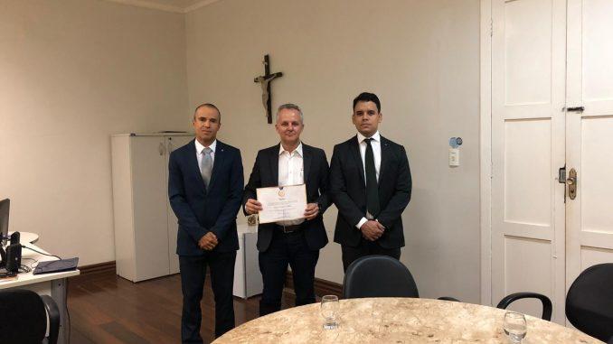 Secretário da Fazenda recebe da Receita Federal diploma de mérito por serviços prestados em Mossoró