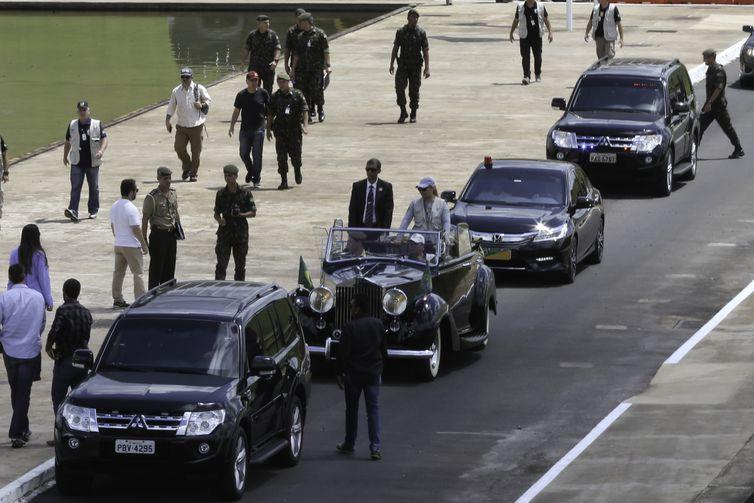 Equipe de segurança faz ensaio para posse do presidente eleito Jair Bolsonaro na Esplanada dos Ministérios