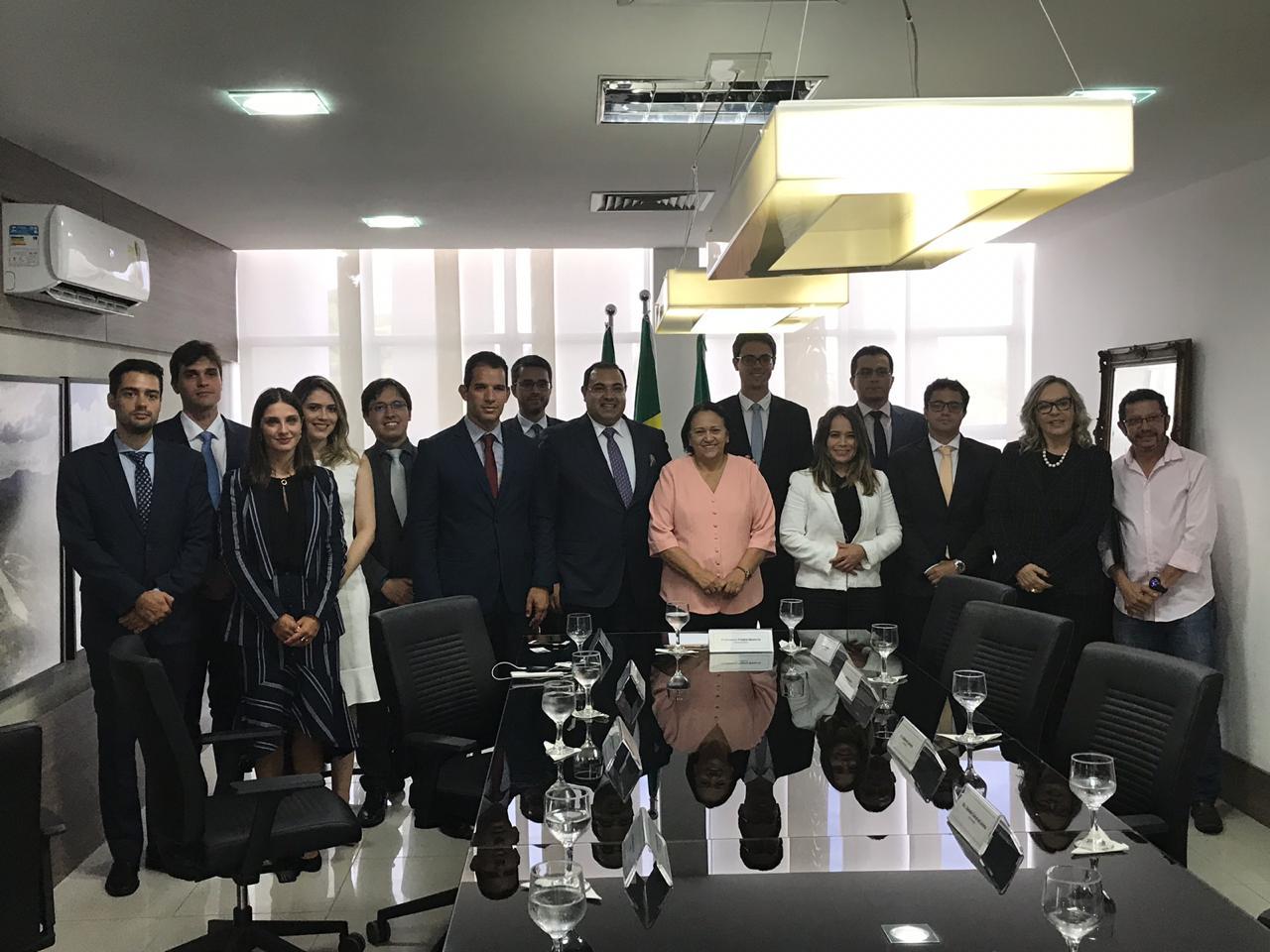 Governadora do RN recebe os novos Juízes Federais da 5ª Região