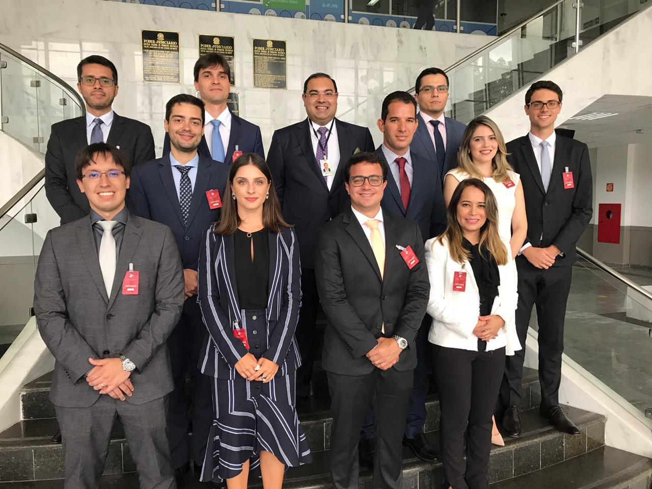 Novos Juízes Federais da 5ª Região visitam à JFRN