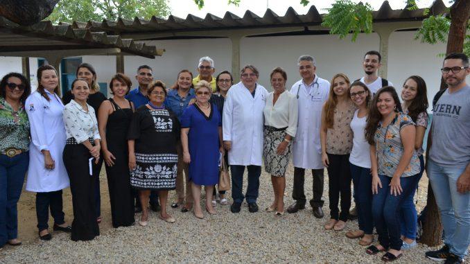 Prefeita Rosalba visita Ambulatório da Faculdade de Medicina da UERN