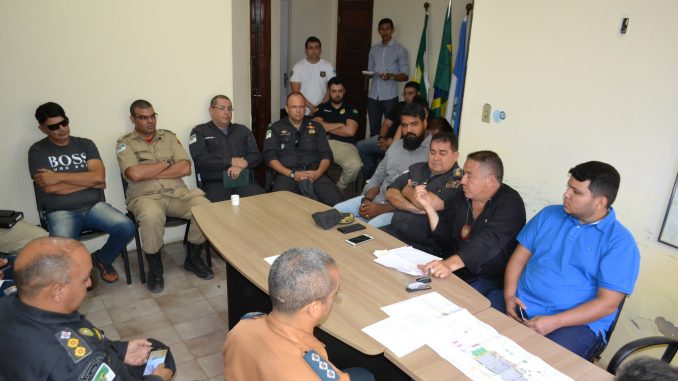 Agentes de segurança discutem plano de segurança do Mossoró Cidade Junina 2019