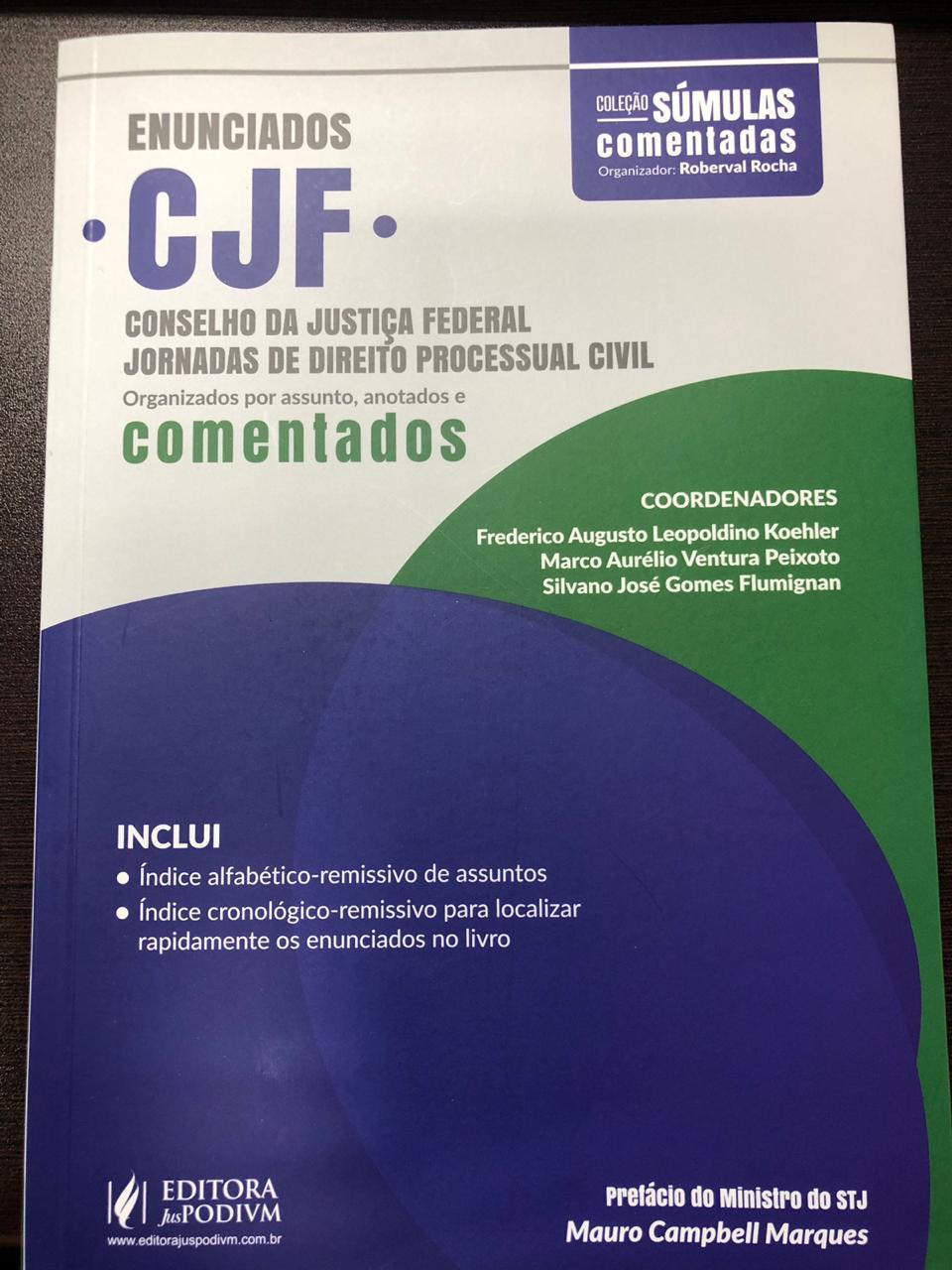 Juiz Federal do RN publica artigo em obra sobre o Código de Processo Civil
