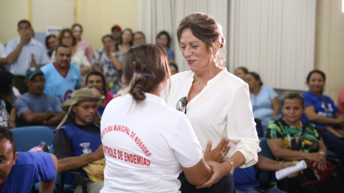 Prefeita Rosalba Ciarlini anuncia que nenhum agente de endemia será demitido