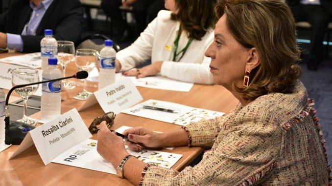 Prefeita de Mossoró cumpre agenda em Brasília e São Paulo em eventos da Frente Nacional de Prefeitos
