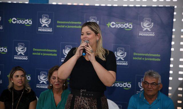 Secretária representa Mossoró em solenidade em Brasília