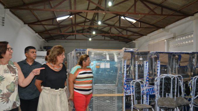 Educação de Mossoró recebe equipamentos para estruturar creches e escolas