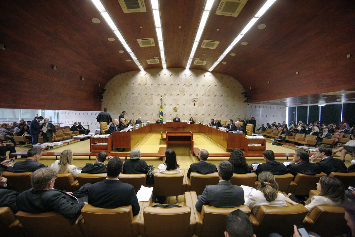 O Supremo Tribunal Federal (STF) realiza sessão plenária para o julgamento de processos sobre criminalização da homofobia.