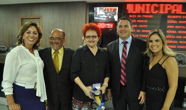 Câmara de Mossoró homenageia evento da Cidade Junina em audiência pública