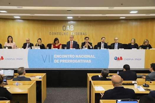 Colégio de Dirigentes apresenta Carta do VII Encontro Nacional de Prerrogativas