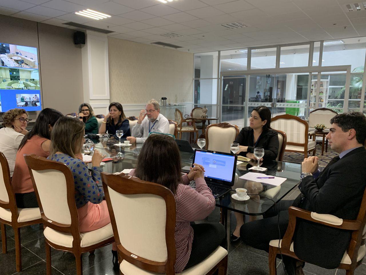 Diretor do Foro se reúne com dirigentes de Vara e define novos projetos