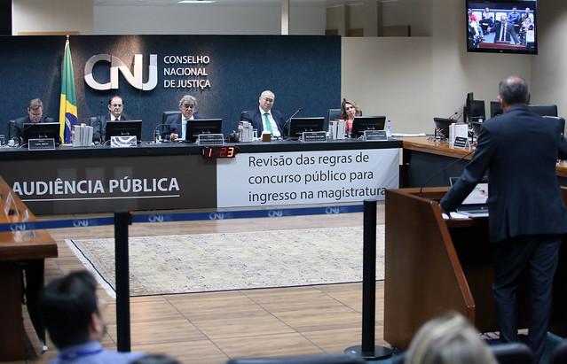 Escolas de magistratura e universidades sugerem mudanças na seleção de juízes