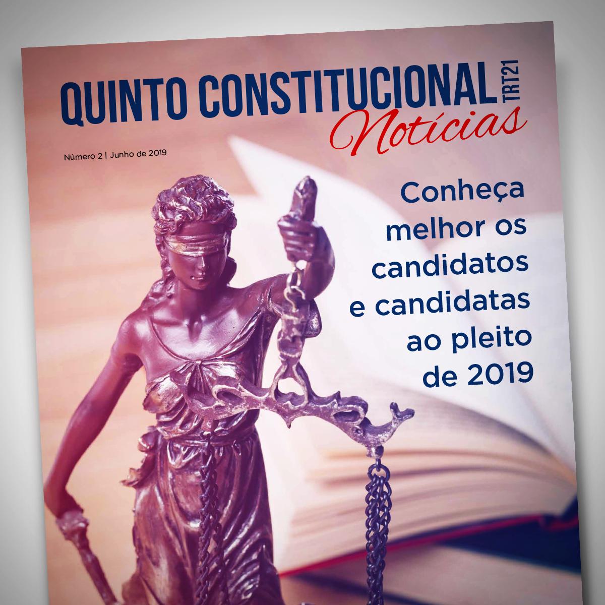 OABRN lança informativo de divulgação dos candidatos ao Quinto Constitucional